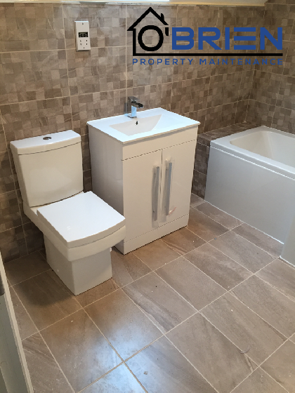 Fully fitted bathroom - Riverslea Road Coventry